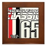 Musclecars 1965 Framed Tile