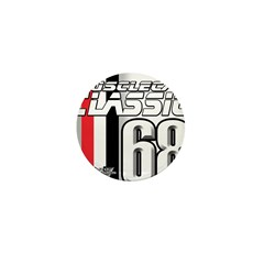 Musclecars 1968 Mini Button (100 pack)