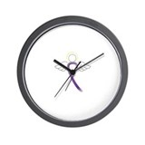 Cute Pancreatic cancer Wall Clock