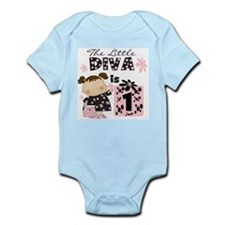 Diva 1st Birthday Infant Bodysuit