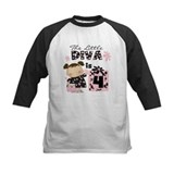 Diva 4th Birthday Tee