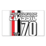 Musclecars 1970 Rectangle Sticker 10 pk)