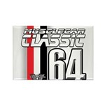 Musclecars 1964 Rectangle Magnet (100 pack)
