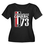 Musclecars 1973 Women's Plus Size Scoop Neck Dark