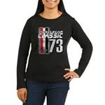 Musclecars 1973 Women's Long Sleeve Dark T-Shirt