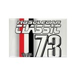 Musclecars 1973 Rectangle Magnet (100 pack)