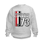 Musclecars 1973 Kids Sweatshirt