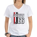 Legends 66 Women's V-Neck T-Shirt