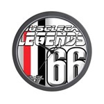 Legends 66 Wall Clock