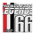 Legends 66 Tile Coaster