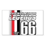 Legends 66 Rectangle Sticker