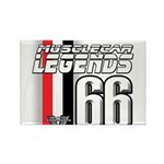 Legends 66 Rectangle Magnet