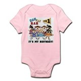 Cheerleader 1st Birthday Infant Bodysuit