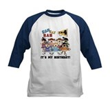 Cheerleader 4th Birthday Tee