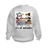 Cheerleader 6th Birthday Sweatshirt