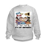 Cheerleader 9th Birthday Sweatshirt
