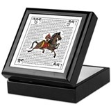 Lung Ta (wind horse) Keepsake Box