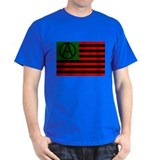Anarchist American Flag T-Shirt