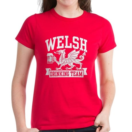 Welsh Drinking Team Women's Dark T-Shirt