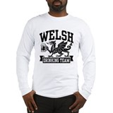 Welsh Drinking Team Long Sleeve T-Shirt