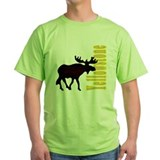 Vertical Yellowstone Moose T-Shirt
