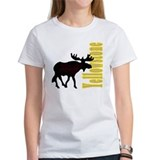 Vertical Yellowstone Moose Tee