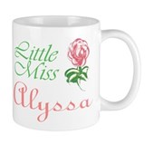 Little Miss Alyssa Coffee Mug