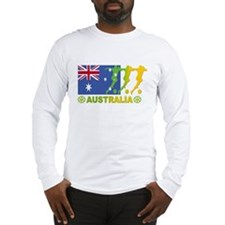 Australia World Cup Soccer 2006 Long Sleeve T-Shir