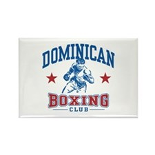 Dominican Boxing Rectangle Magnet