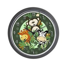 The Zoo Crew Jungle Wall Clock