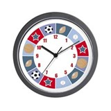 Sports Wall Clock
