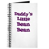Daddy's Little Bean Bean Journal