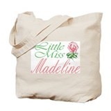 Little Miss Madeline Tote Bag
