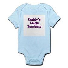 Daddy's Little Bambino Infant Creeper