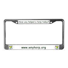 Herpetology License Plate Frame
