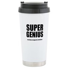 Super Genius Ceramic Travel Mug