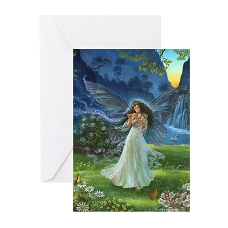 Fairy Melody Greeting Cards (Pk Of 10)