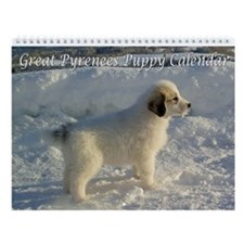 Great Pyrenees Puppy Calendar 2014