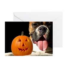 Halloween Boxer Greeting Cards (Pk of 20)