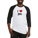 I Love JDG Baseball Jersey
