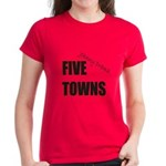 Five Towns Women's Dark T-Shirt
