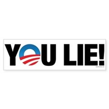 You Lie! Bumper Bumper Sticker