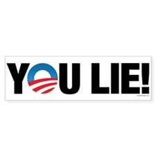 You Lie! Bumper Sticker (10 pk)