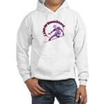 I Snowboard Hooded Sweatshirt