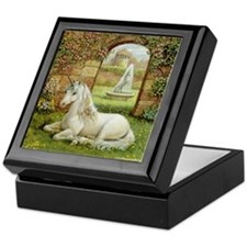 UNICORN GARDEN Keepsake Box