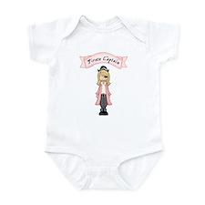 Pirate Captain Girl Infant Bodysuit
