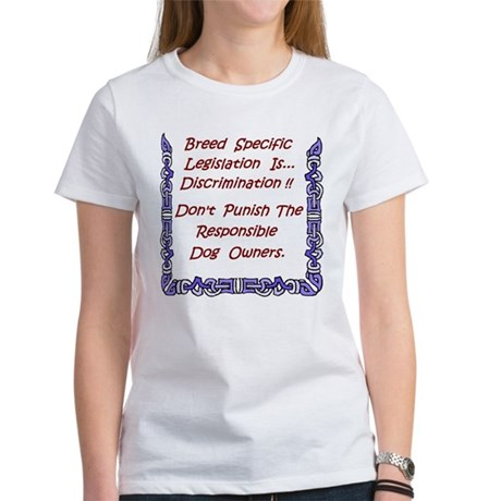 BSL Is Discrimination Women's T-Shirt
