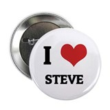 I Love Steve Button