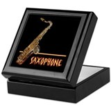 Tenor Sax Keepsake Box