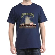 Baboon Rising F.A.T. Black T-Shirt